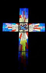 Kerk in Denemarke se venster